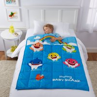 Deals on Baby Shark Kids Weighted Blanket 36x48-inch