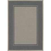 Couristan Tides Astoria Rug, Charcoal/Grey