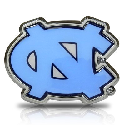 Carolina University Car (University of North Carolina Blue Color Car Emblem )