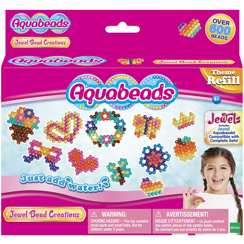 Aquabeads Jewel Bead Refill Pack Orange
