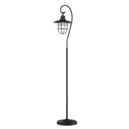 Revel lantern 58 industrial floor lamp hanging shade design revel lantern 58 industrial floor lamp hanging shade design cage brushed pewter aloadofball Choice Image