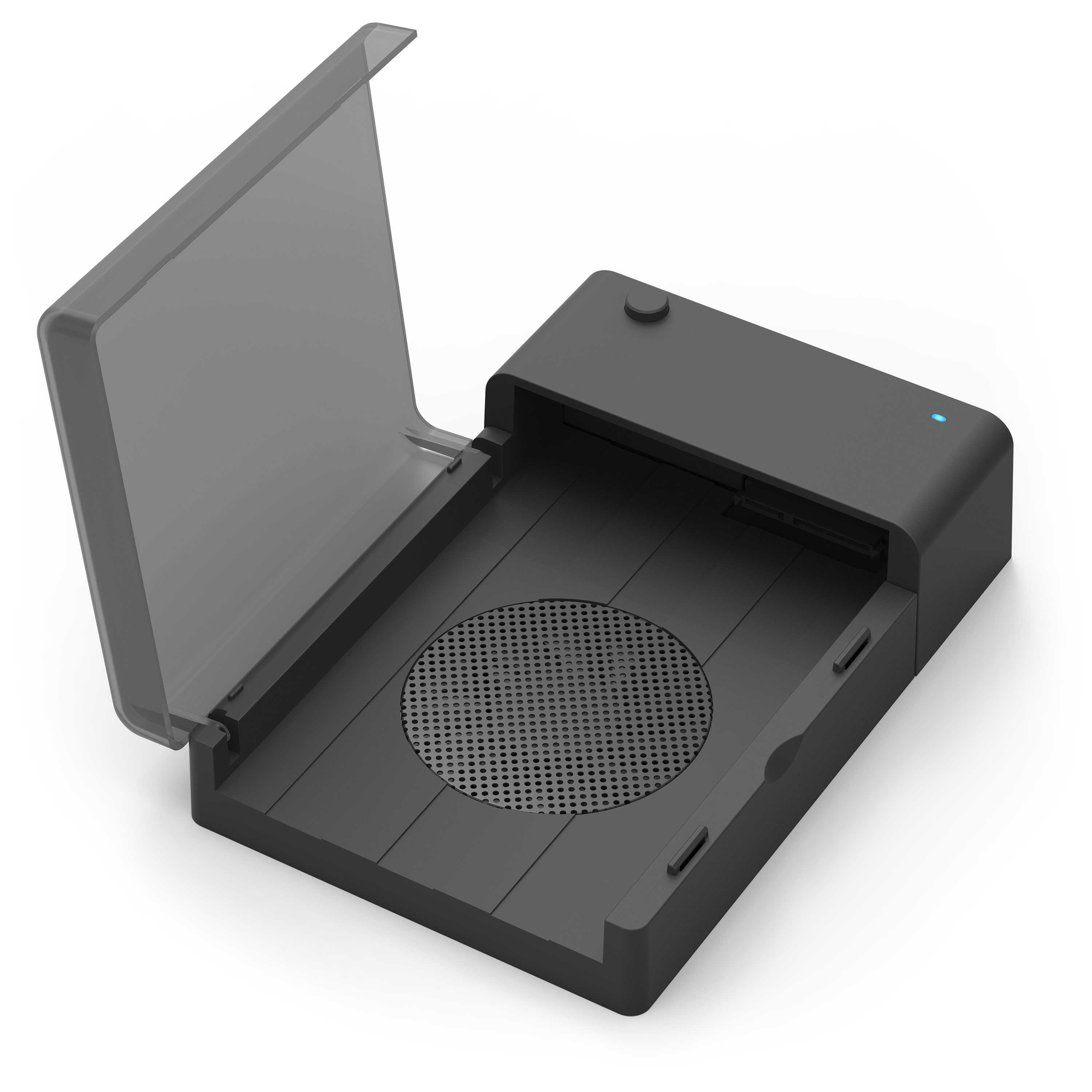 Sabrent USB 3.0 to SATA External Hard Drive Lay-Flat Docking Station with Built-in Cooling Fan for 2.5 or 3.5in HDD, SSD