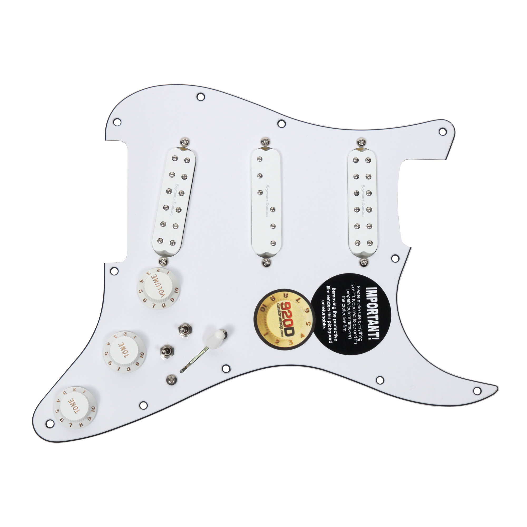 Duncan SJBJ   SDBR   SL59 Loaded Pickguard Everything Axe W  2 Toggles WH WH by