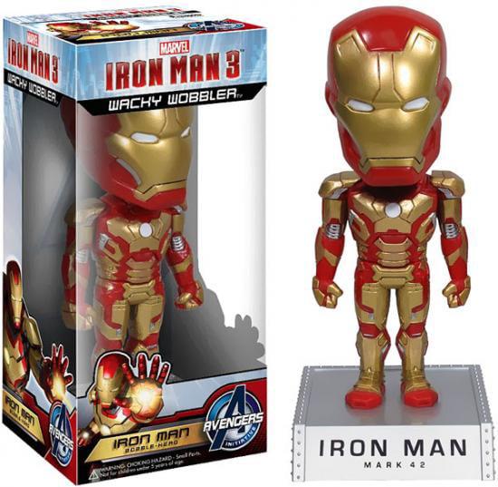 Funko Wacky Wobbler Iron Man Bobble Head [Mark 42]