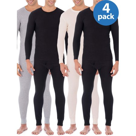 Buy 2 Fruit of the Loom Mens Classic Thermal Underwear Crew Top Value Packs, and Save!](Buy Costume.com)