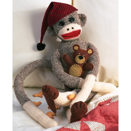 - Peejay Sock Monkey Kit