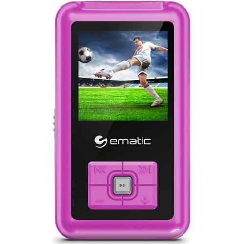 EMATIC 8GB MP3/Video Player, EM208VIDPN
