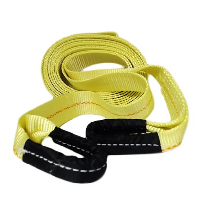 "ABN Tow Strap with Loops 2"" x 30' Vehicle Recovery Rope 16000lbs Recovery Strap"