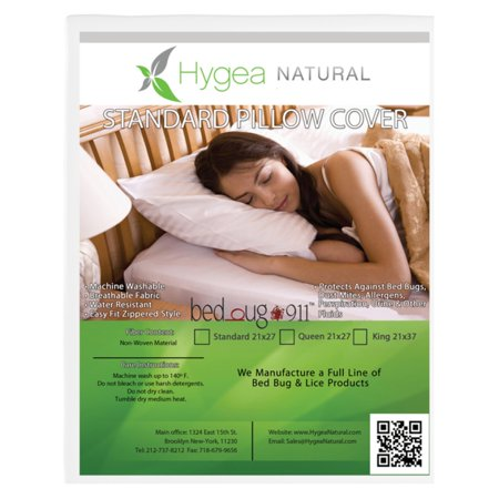 Bed Bug Bed Bug Pillow Cover - 2 Pack](Plastic Pillow Covers)