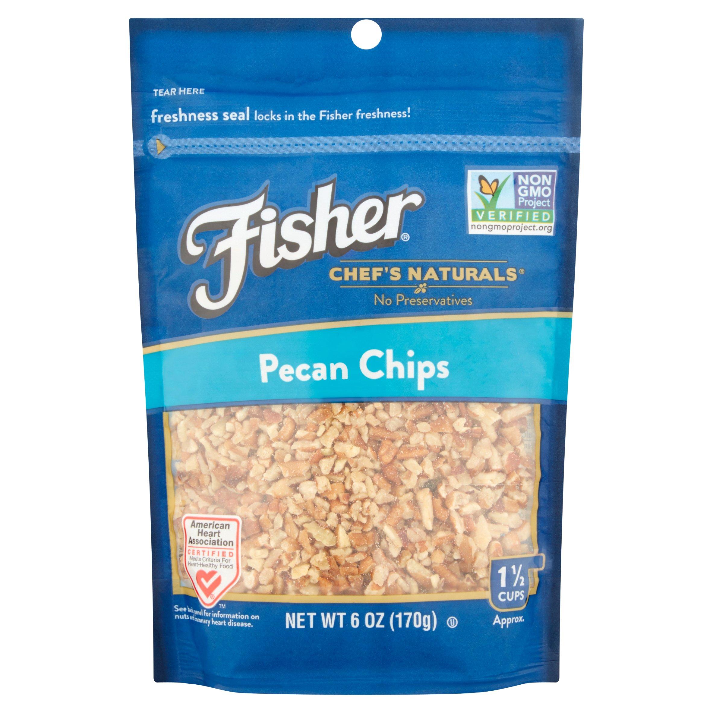 Fisher Chef\'s Naturals Natural Sliced Almonds, 24 Oz - Walmart.com