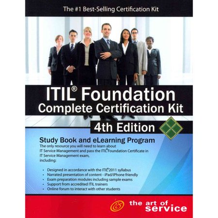 Itil Foundation Complete Certification Kit   Fourth Edition  Study Guide Book And Online Course