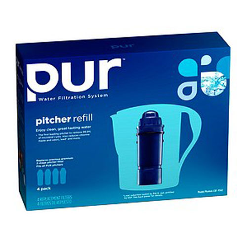 PUR Pitcher Replacement Water Filter, 4-Pack