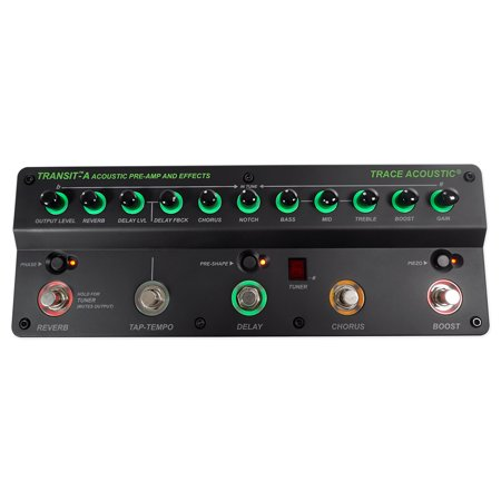 Trace Elliot Transit-A Pro Acoustic Guitar Preamp Pedal w/ Effects+3-Band - Trace Elliot Guitar Amps