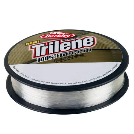 Berkley Trilene 100% Fluorocarbon Professional Grade Line Spool 110 Yards, 0.007