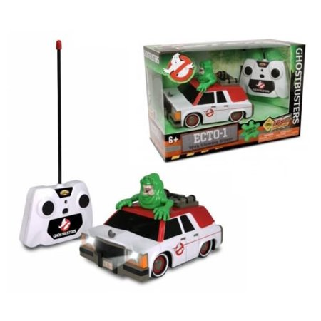NEW NKOK RC RADIO CONTROL - GHOSTBUSTERS ECTO-1 WITH GLOWING SLIME CAR By (Ghostbusters Rc Ecto 1 With Glowing Slimer)