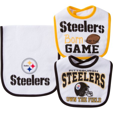 dcde5c01be1 NFL Pittsburgh Steelers Baby Accessory Set