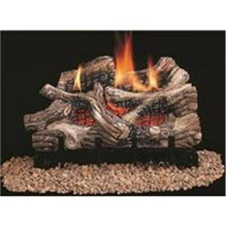 Vent Free Gas Log, 25000 - 36000 BTU, 24 in. - Natural Gas - Ceramic Fiber ()