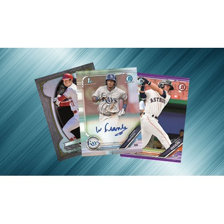 2004 Bowman Sterling Baseball - MLB 2019 Bowman Baseball Trading Card JUMBO Pack