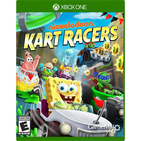 Nickelodeon Kart Racers, Gamemill, Xbox One, 856131008060