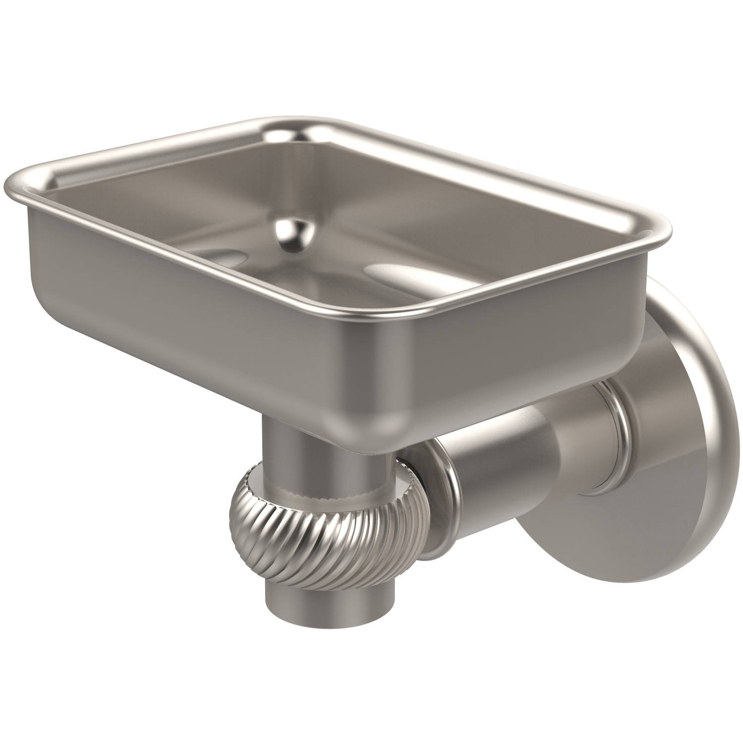 Continental Collection Wall-Mounted Soap Dish Holder with Twist Accents (Build to Order)