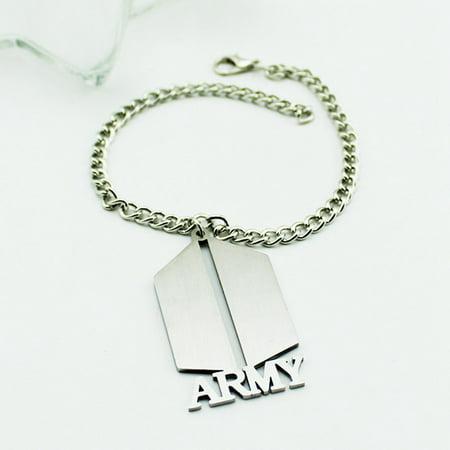 Fancyleo 1 Pcs Kpop BTS Bangtan Boys Wristband Bracelet Best Gift BTS
