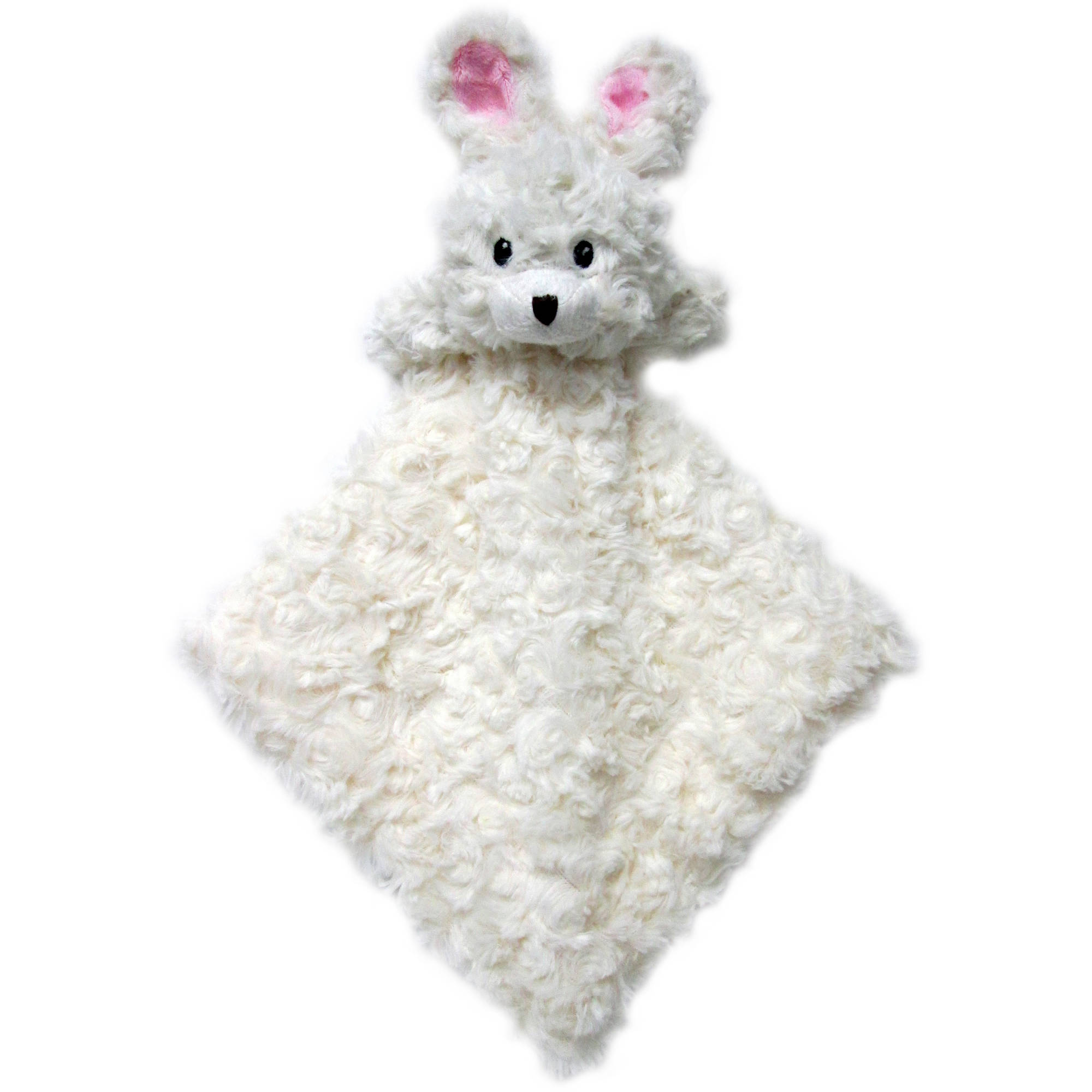 Sumersault Snuggle Buddy, Ivory Bunny by Crown Crafts Infant Products Inc
