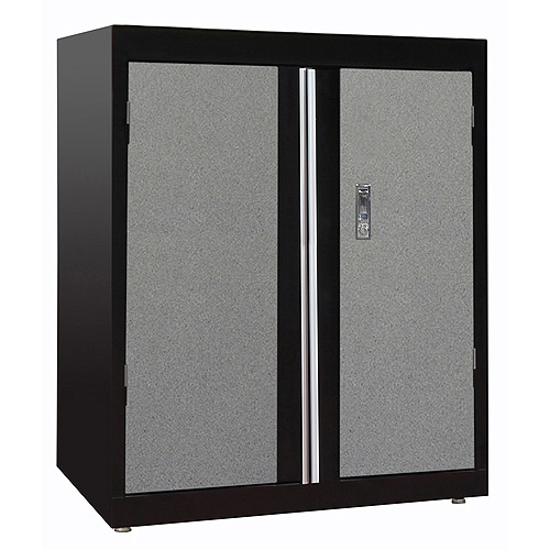"Sandusky 30"" Deluxe Garage Base Cabinet with 2 Adjustable Shelves"