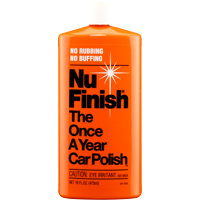 Nu Finish The Once A Year Car Polish, 16 oz. bottle