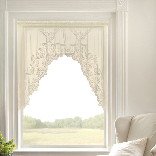 Heritage Lace Heirloom Sheer 70'' Curtain Valance