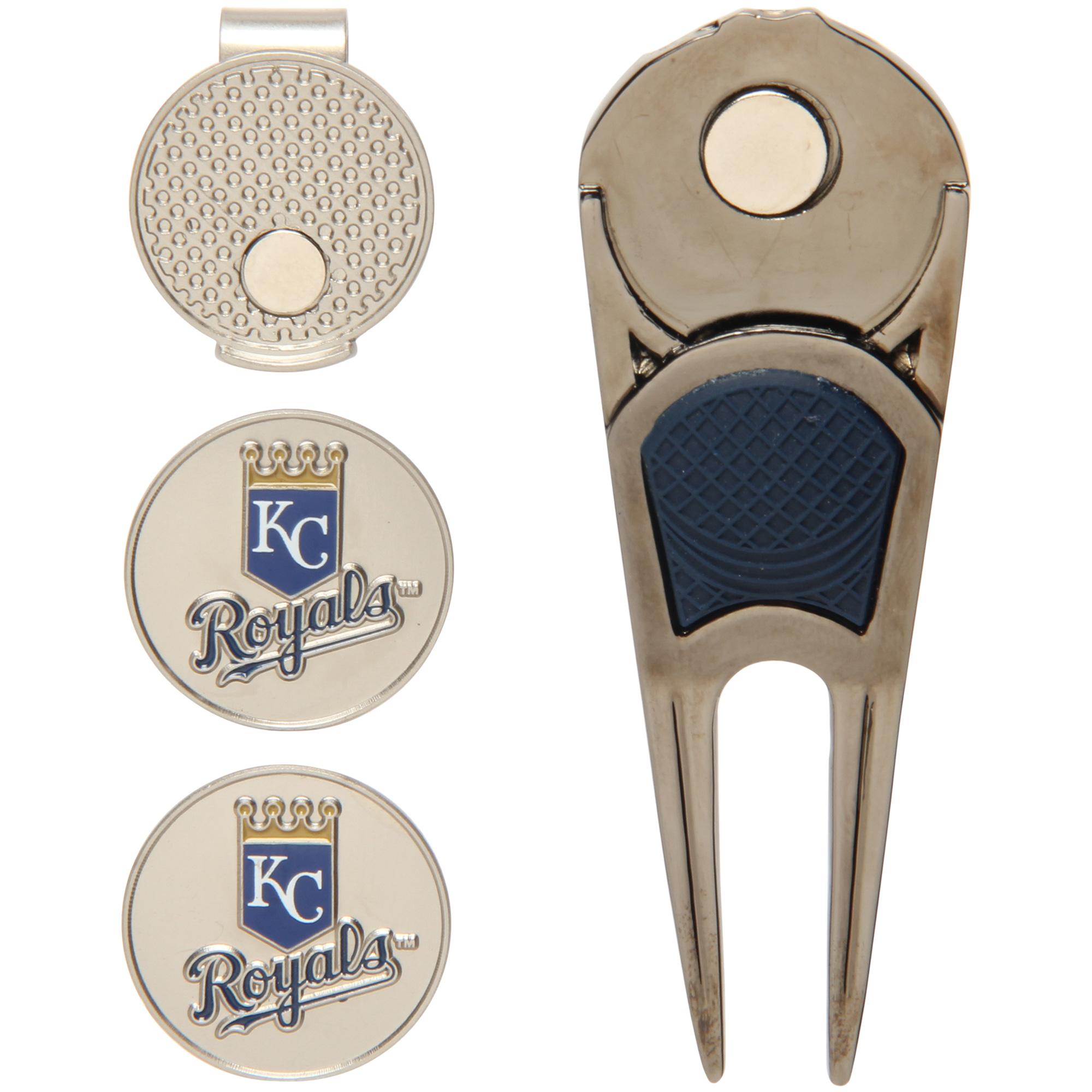 Kansas City Royals WinCraft Ball Marker, Hat Clip & Divot Repair Tool Set - No Size