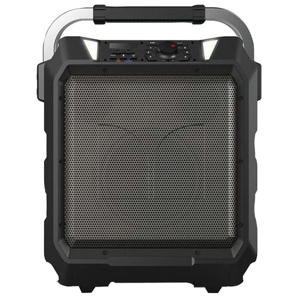 Monster Rockin-Roller 80-Watt Portable Indoor/Outdoor Wireless Speaker, Black