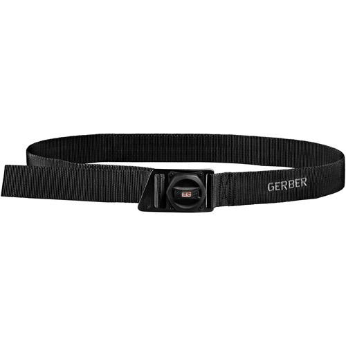 Gerber Bear Grylls Survival Belt with Supplies in Belt Buckle by Gerber