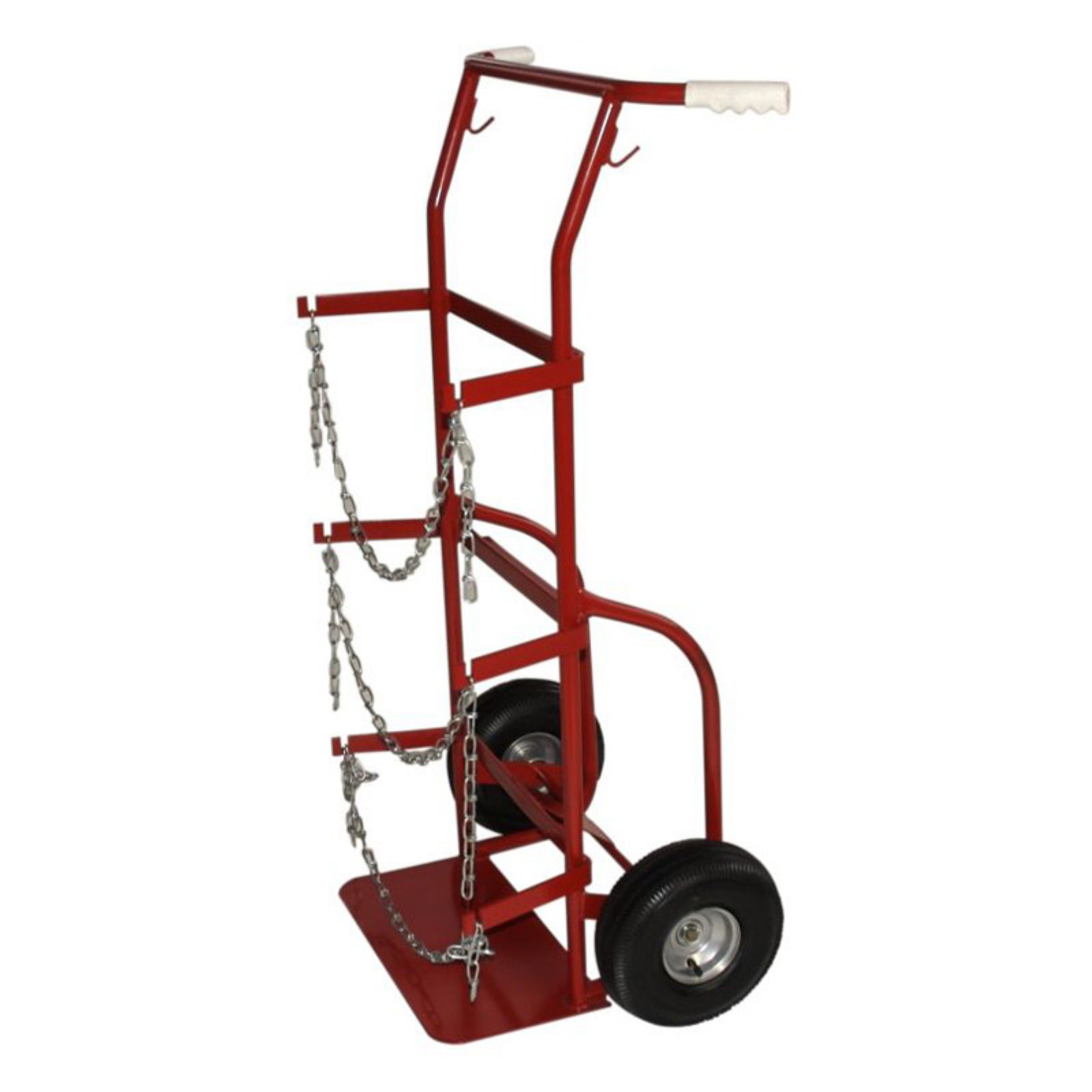 Milwaukee Cylinder Hand Truck with 10 in. Pneumatic Tires