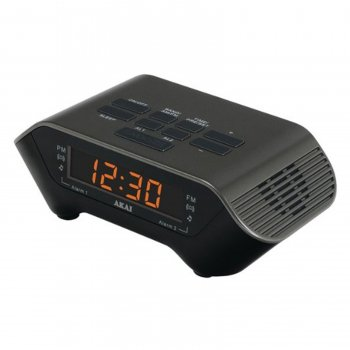 Image of AKAI AM/FM PLL Alarm Clock Radio