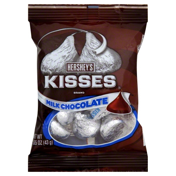 Hershey Foods Hersheys Kisses Milk Chocolate, 1.55 oz