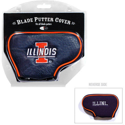 Team Golf NCAA Illinois Golf Blade Putter Cover