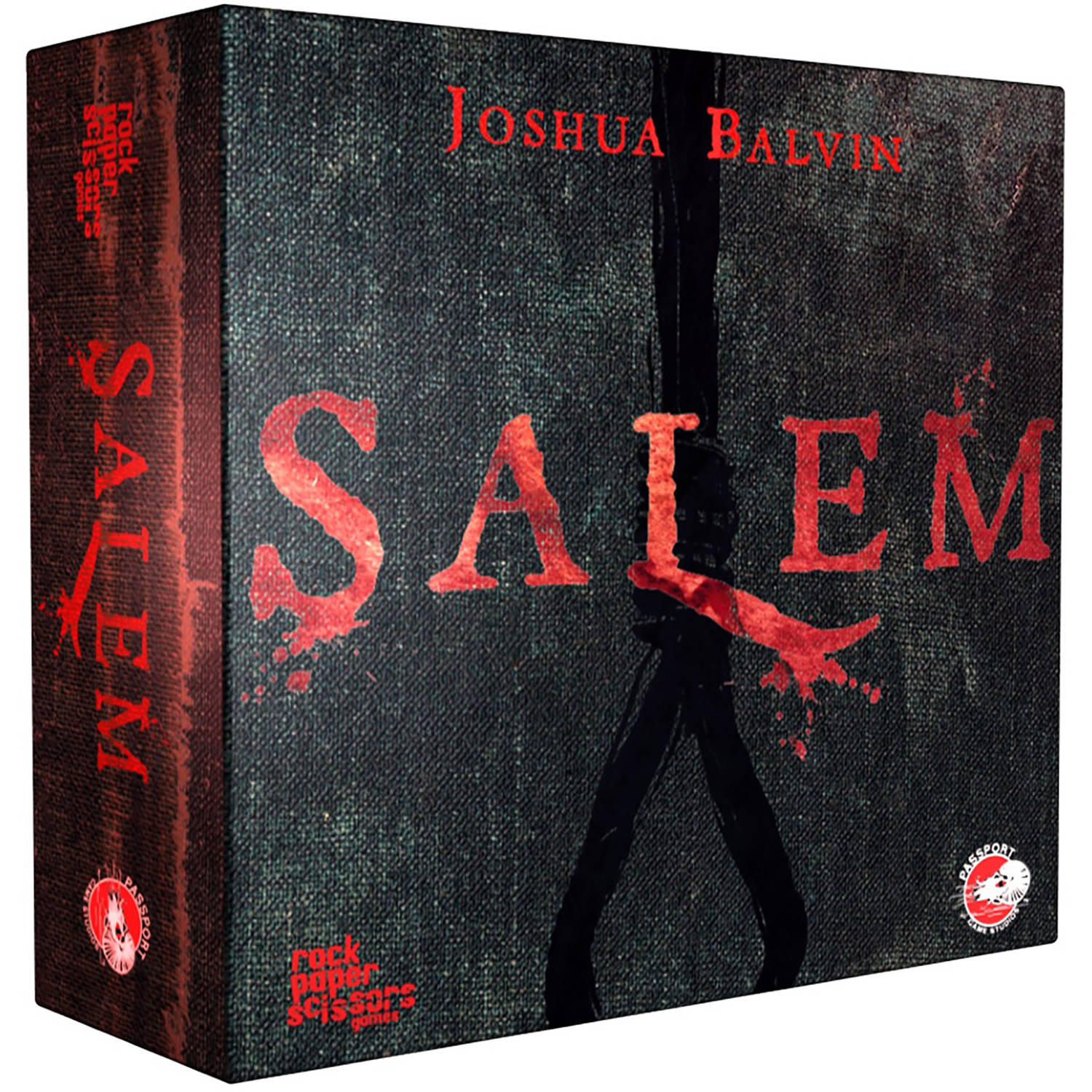 Salem Board Game by Passport Game Studios