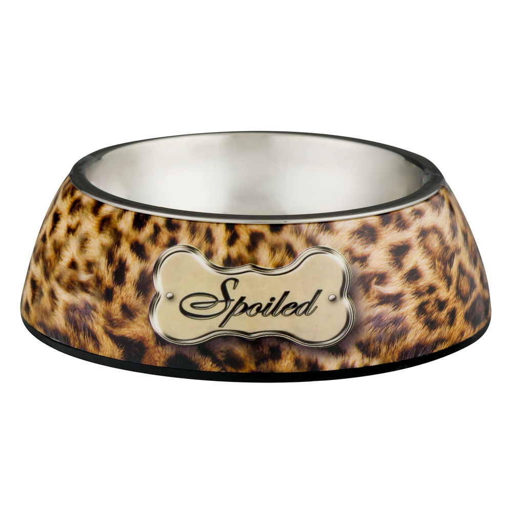 "Loving Pets Dog Bowl Small ""Spoiled"", 1.0 CT"