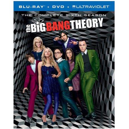 The Big Bang Theory  The Complete Sixth Season  Blu Ray   Dvd