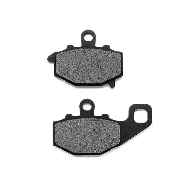 KMG 2007-2011 Kawasaki KLE 650 Versys Rear Non-Metallic Organic NAO Disc Brake Pads Set - image 4 of 4