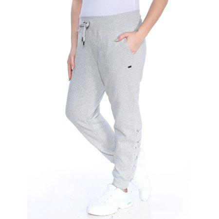 5c0bce8a01 Donna Karan - DKNY Womens Gray Jogger Pants Size  L - Walmart.com
