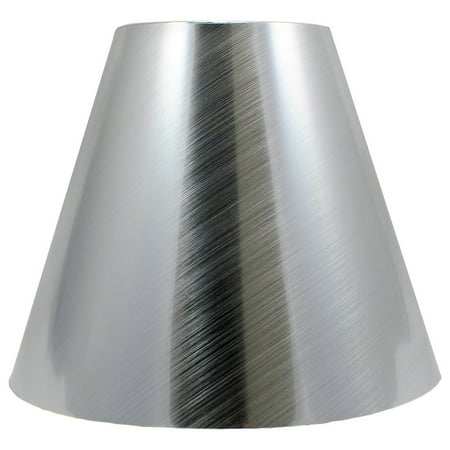 Metallic Shade (Urbanest Metallic Hardback Chandelier Lamp Shade, 3x6x5