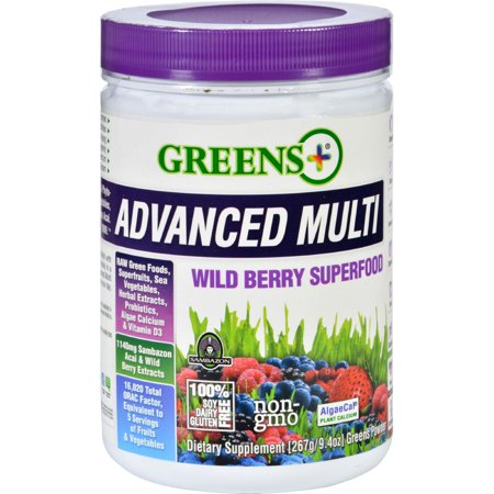 Greens Plus Superfood - Advanced Multi - Wild Berry - 9.4 oz