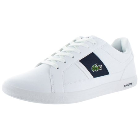 156c4e4125fc Lacoste - Lacoste Europa Men s Fashion Court Sneakers Shoes Tennis -  Walmart.com