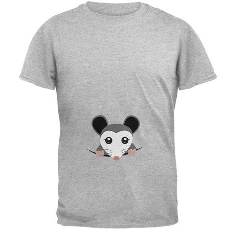 Halloween Peeking Possum Costume Mens T Shirt - 4xl Costumes
