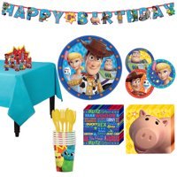 Party City Toy Story 4 Tableware Party Supplies for 8 Guests