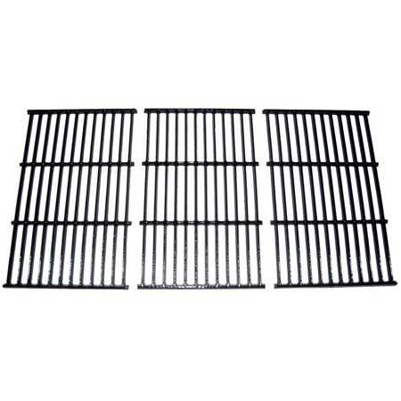 Rectangular Porcelain Coated Cast Iron Cooking Grids (Set of -