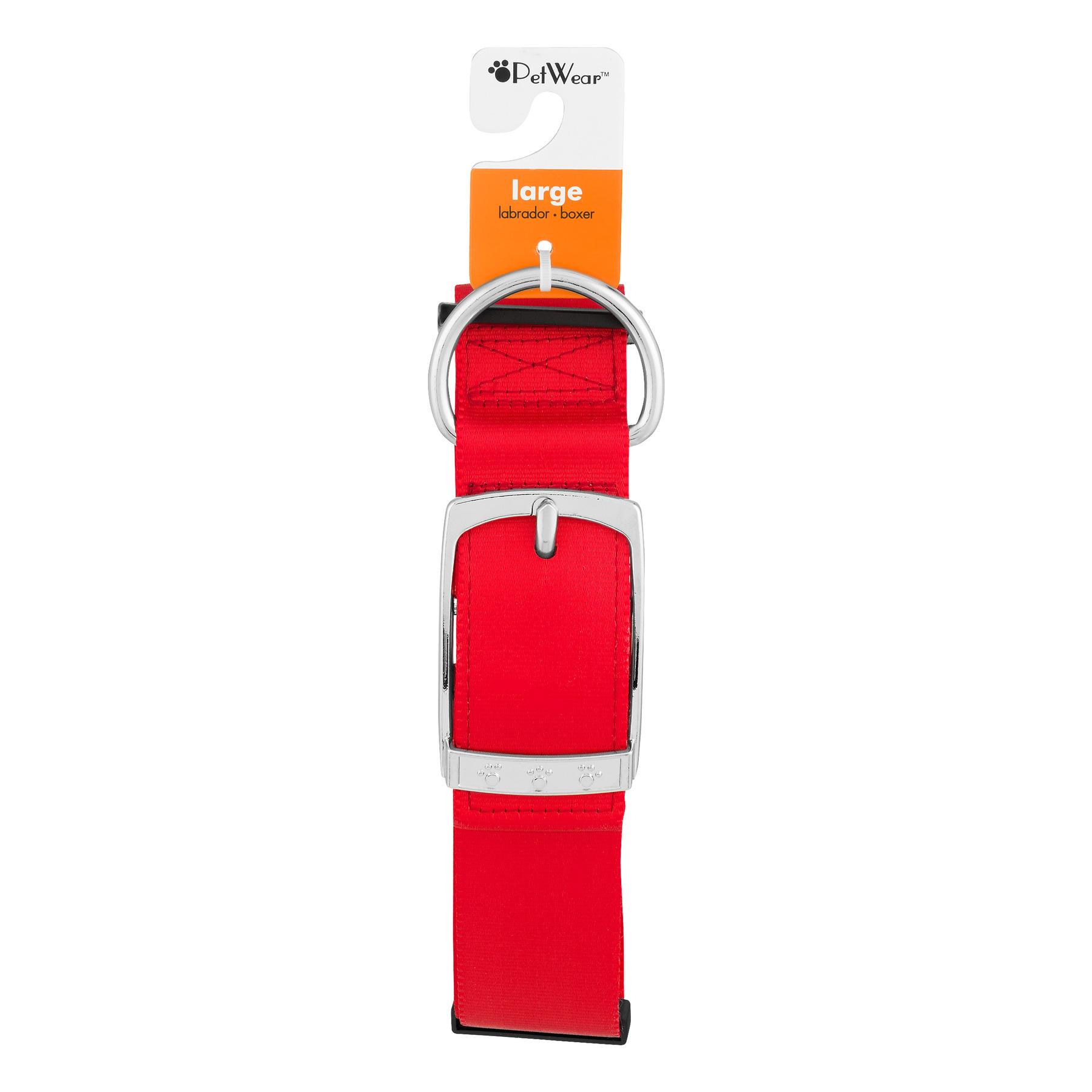 PetWear Collar Large Red, 1.0 CT