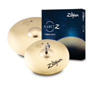 "Zildjian Planet Z Fundamentals Cymbal Pack - 14"" Hi Hats, and 18"" Crash Ride"