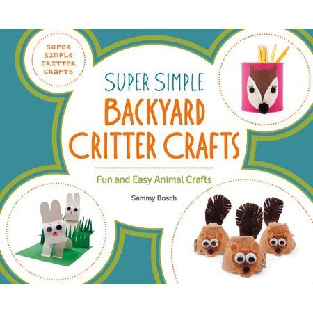 Super Simple Backyard Critter Crafts : Fun and Easy Animal Crafts - Fun And Easy Halloween Crafts